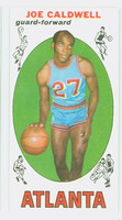 1969 Topps Basketball 41 Joe Caldwell ROOKIE Atlanta Hawks Excellent to Mint