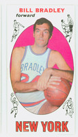 1969 Topps Basketball 43 Bill Bradley ROOKIE New York Knicks Excellent to Excellent Plus