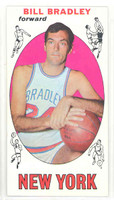 1969 Topps Basketball 43 Bill Bradley ROOKIE New York Knicks Near-Mint Plus