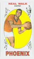 1969 Topps Basketball 46 Neal Walk ROOKIE Pheonix Suns Near-Mint