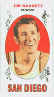 1969 Topps Basketball 51 Jim Barnett ROOKIE San Diego Rockets Excellent to Mint