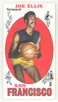 1969 Topps Basketball 57 Joe Ellis San Francisco Warriors Near-Mint Plus