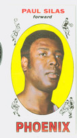 1969 Topps Basketball 61 Paul Silas ROOKIE Pheonix Suns Near-Mint