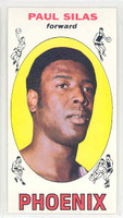 1969 Topps Basketball 61 Paul Silas ROOKIE Pheonix Suns Near-Mint to Mint
