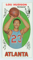 1969 Topps Basketball 65 Lou Hudson ROOKIE Atlanta Hawks Excellent to Mint