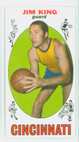1969 Topps Basketball 66 Jim King Cincinnati Royals Near-Mint
