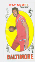 1969 Topps Basketball 69 Ray Scott Baltimore Bullets Near-Mint