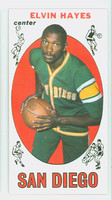 1969 Topps Basketball 75 Elvin Hayes ROOKIE San Diego Rockets Excellent to Mint