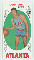 1969 Topps Basketball 77 Don Ohl Atlanta Hawks Near-Mint