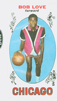 1969 Topps Basketball 78 Bob Love ROOKIE Chicago Bulls Near-Mint