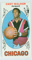 1969 Topps Basketball 91 Chet Walker ROOKIE Chicago Bulls Near-Mint