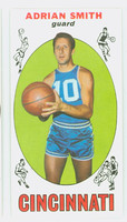 1969 Topps Basketball 97 Adrian Smith ROOKIE Cincinnati Royals Near-Mint