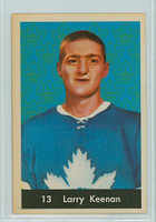 1961-62 Parkhurst Hockey 13 Larry Keenan Toronto Maple Leafs Near-Mint Plus