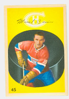 1962-63 Parkhurst Hockey 45 Marcel Bonin Montreal Canadiens Near-Mint to Mint