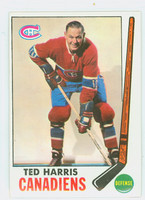 1969-70 Topps Hockey 2 Ted Harris Montreal Canadiens Excellent