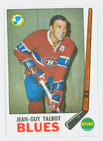 1969-70 Topps Hockey 15 Jean-Guy Talbot St. Louis Blues Excellent to Mint