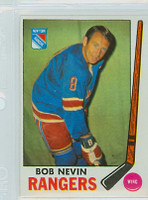 1969-70 Topps Hockey 40 Bob Nevin New York Rangers Near-Mint