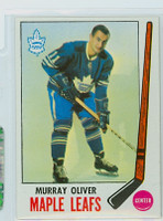 1969-70 Topps Hockey 52 Murray Oliver Toronto Maple Leafs Very Good to Excellent