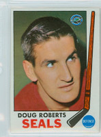 1969-70 Topps Hockey 81 Doug Roberts California Seals Near-Mint Plus