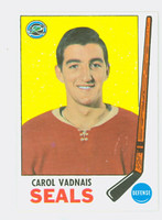 1969-70 Topps Hockey 82 Carol Vadnais California Seals Near-Mint