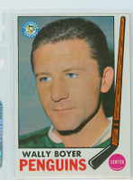 1969-70 Topps Hockey 118 Wally Boyer Pittsburgh Penguins Excellent