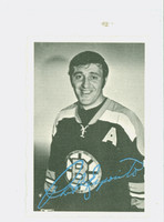1970-71 OPC Deckle Inserts 6 Phil Esposito Boston Bruins Near-Mint to Mint