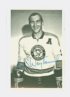 1970-71 OPC Deckle Inserts 8 Bob Woytowich Pittsburgh Penguins Near-Mint