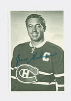 1970-71 OPC Deckle Inserts 21 Jean Beliveau Montreal Canadiens Near-Mint to Mint