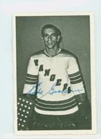 1970-71 OPC Deckle Inserts 42 Ed Giacomin New York Rangers Excellent to Mint