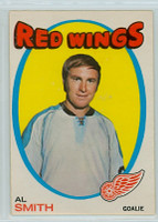 1971-72 OPC Hockey 27 Al Smith Detroit Red Wings Excellent to Mint