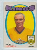 1971-72 OPC Hockey 153 Harry Howell Los Angeles Kings Near-Mint
