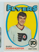 1971-72 OPC Hockey 202 Gary Dornhoefer Philadelphia Flyers Near-Mint