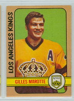 1972-73 OPC Hockey 27 Gilles Marotte Los Angeles Kings Near-Mint