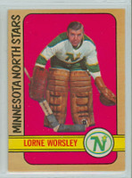 1972-73 OPC Hockey 28 Gump Worsley Minnesota North Stars Near-Mint