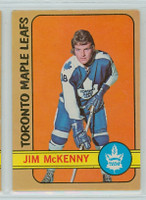 1972-73 OPC Hockey 83 Jim McKenny Toronto Maple Leafs Excellent to Mint