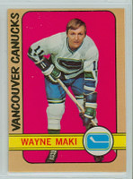 1972-73 OPC Hockey 84 Wayne Maki Vancouver Canucks Excellent to Mint