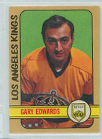 1972-73 OPC Hockey 113 Gary Edwards Los Angeles Kings Near-Mint