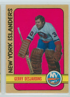 1972-73 OPC Hockey 119 Gerry Desjardins New York Islanders Excellent to Mint