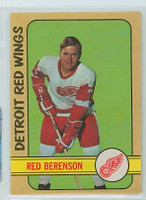1972-73 OPC Hockey 123 Red Berenson Detroit Red Wings Near-Mint