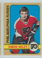 1972-73 OPC Hockey 125 Simon Nolet Philadelphia Flyers Excellent to Mint