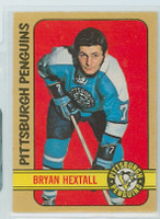 1972-73 OPC Hockey 174 Bryan Hextall Pittsburgh Penguins Near-Mint