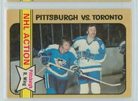 1972-73 OPC Hockey 186 Eddie Shack IA Toronto Maple Leafs Near-Mint