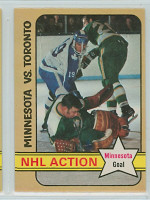 1972-73 OPC Hockey 189 Gump Worsley IA Minnesota North Stars Near-Mint