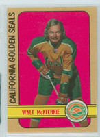 1972-73 OPC Hockey 192 Walt McKechnie California Seals Excellent to Mint