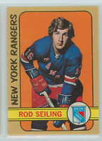 1972-73 OPC Hockey 194 Rod Seiling New York Rangers Excellent to Mint