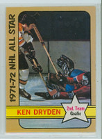 1972-73 OPC Hockey 247 Ken Dryden AS Montreal Canadiens Near-Mint