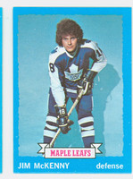1973-74 Topps Hockey Jim McKenney Toronto Maple Leafs Near-Mint Plus