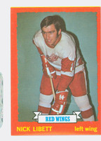 1973-74 Topps Hockey Nick Libett Detroit Red Wings Near-Mint