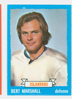 1973-74 Topps Hockey Bert Marshall New York Islanders Near-Mint