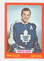 1973-74 Topps Hockey Ron Ellis Toronto Maple Leafs Near-Mint